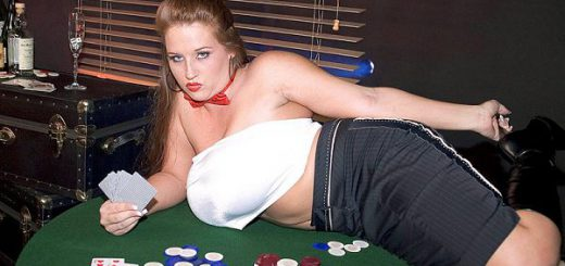 Most card games are not designed in the player's favor, at least not at Casinos. But things are different at The SCORE Casino. The bet is simple. If you lose, you remove a garment. If Brandy Dean loses, she removes a piece of clothing. Either way, you...